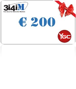 3i4iM Gift Card da € 200,00