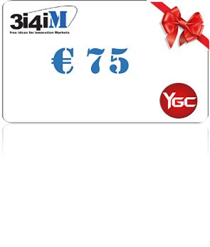 3i4iM Gift Card da € 75,00