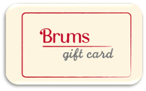 Brums Gift Card