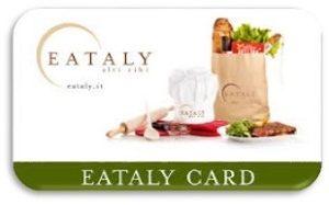 Eataly Gift card