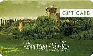 Gift Bottega Verde da € 50,00