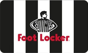 € 100,00 Gift Card Foot Locker
