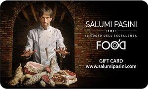 € 25,00 Gift Card Salumi Pasini